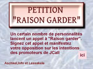 Petition contre JCALL