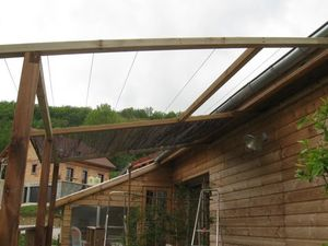 Canisse Sur Pergola. Beautiful Best Canisse Sur Pergola With Pergola ...