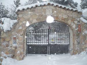 porche neige