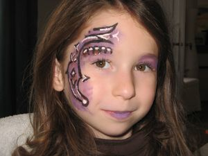Maquillage sorci re fillette - Maquillage enfant sorciere ...