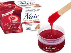 cire pomme d'amour nair
