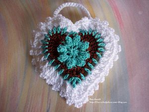 coeur-pochon-dragees-mariage-chocolat-turquoise