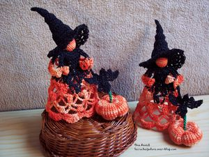 sorcieres-Halloween-decoration-crochet