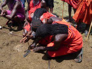 Masaï feu