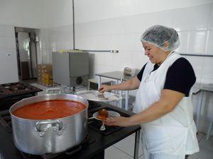 São Roque - Nonna Nunziata - Maria preparando a sardella
