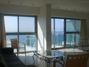 herzliya israel huge living room with ocean viewi in okeanos loft herzliya pituach israel.jpg