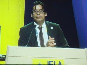 jesus lau tribune IFLA