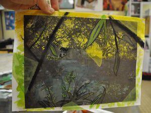 Tableau paysage transparence ados atelier de flo2