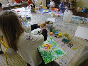 L'Atelier de Flo 08 Peinture Empreinte Main Enfant 4