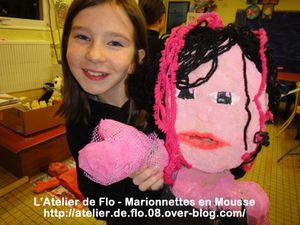 Marionnettes en mousse-Atelier de Flo-Donchery-Artiste-Peintre13