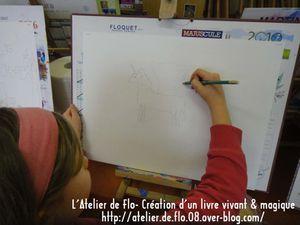 Livre Enfants Peinture Atelier de flo Megardon10