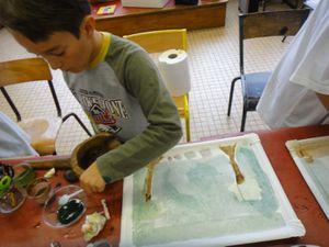 Atelier-Semaine du Goût-Peinture Végétale-FloM 21