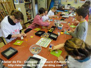 Peinture-Collage-Automne-Paperolles-Quilling-Atelier de Flo19