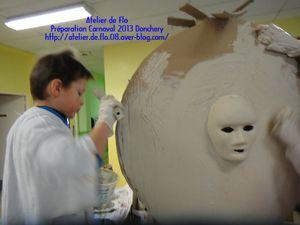 Carnaval Atelier Enfants Donchery Ardennes Artiste Peintre4