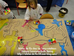 Keith Haring Enfants Peinture Sedan Artiste Peintre lo Megardon3