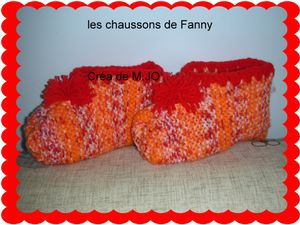 chaussons FANNY