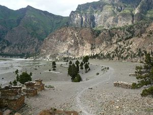 1 Kagkot valley and the village under the rocks