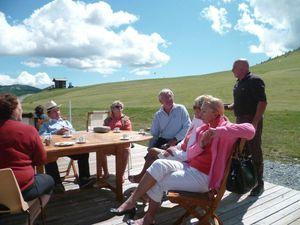 Terrasse au Golf Club de Valberg