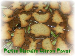 Biscuits citron pavot 1