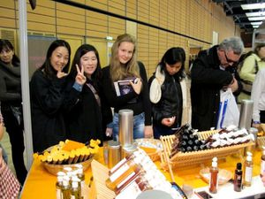 ecole interculturelle - salon du chocolat 7