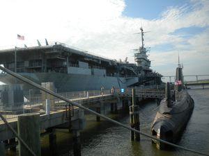Charleston Porte avions Yorktown