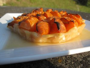 Tartelette aux abricots (2)
