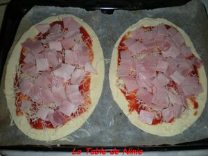 Pizza jambon fromage 4