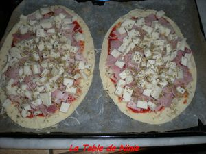 Pizza jambon fromage 5
