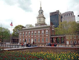 270px-Independence Hall tres petite