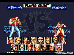 fatal-fury-special-personnages