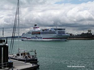 060 - Arrivée du Normandie, 17 juillet