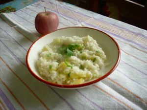 Risotto mele VC