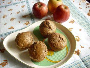 muffins choco pommes CM