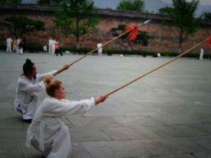 Yuan Xiu Gang y Shifu Paty Lee -China 2014,