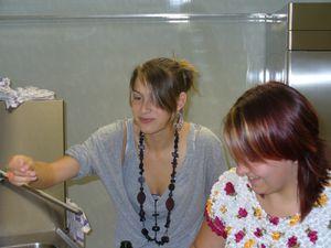 Fanny et Delphine 2007