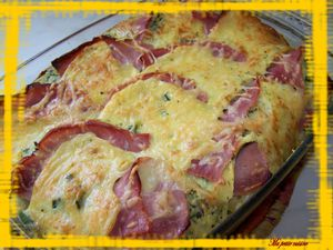 clafoutis courgettes 2