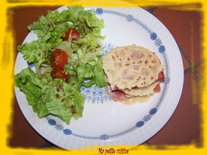 milleufeuille parmesan - jambon cru 1