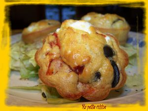 cupcakes feta,olives poivron 4