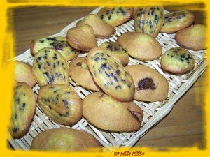 madeleines aux pepites de choclat 2