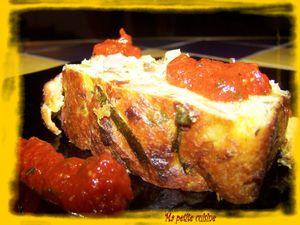 pain de courgettes aux tomates confites 4