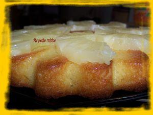 gateau coco-ananas