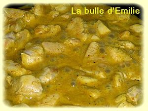 poulet curry 1