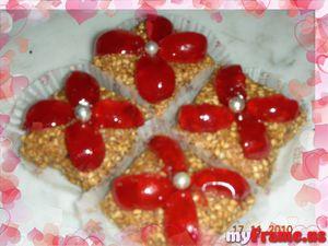 Jeljlaniya gâteaux sans cuisson aux graines de sésame