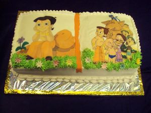 Chota Bheem Images For Birthday Cake : Chota Bheem Cake Cake Ideas and Designs