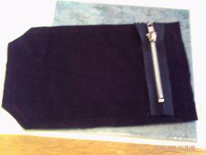 tuto pour poche plaquee a fermeture eclair le blog de ma ger de. Black Bedroom Furniture Sets. Home Design Ideas