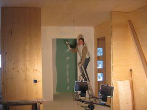 Sous couche sur plaques plâtre - 4
