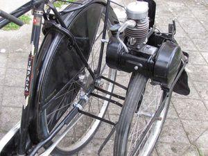 fixation moteur solex sur cadre