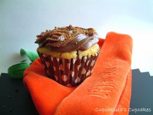 Cupcakes Potiron Chocolat Cannelle