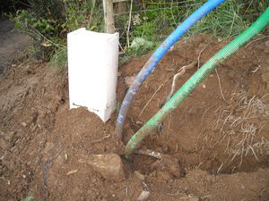 Le blog de giniejyl la cabane au bord de la vilaine autoconstruction partielle de notre - Cout raccordement france telecom maison neuve ...