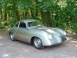 -Porsche 356 Coupe silver